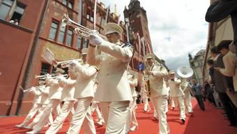 «Basel Tattoo»-Parade 2012