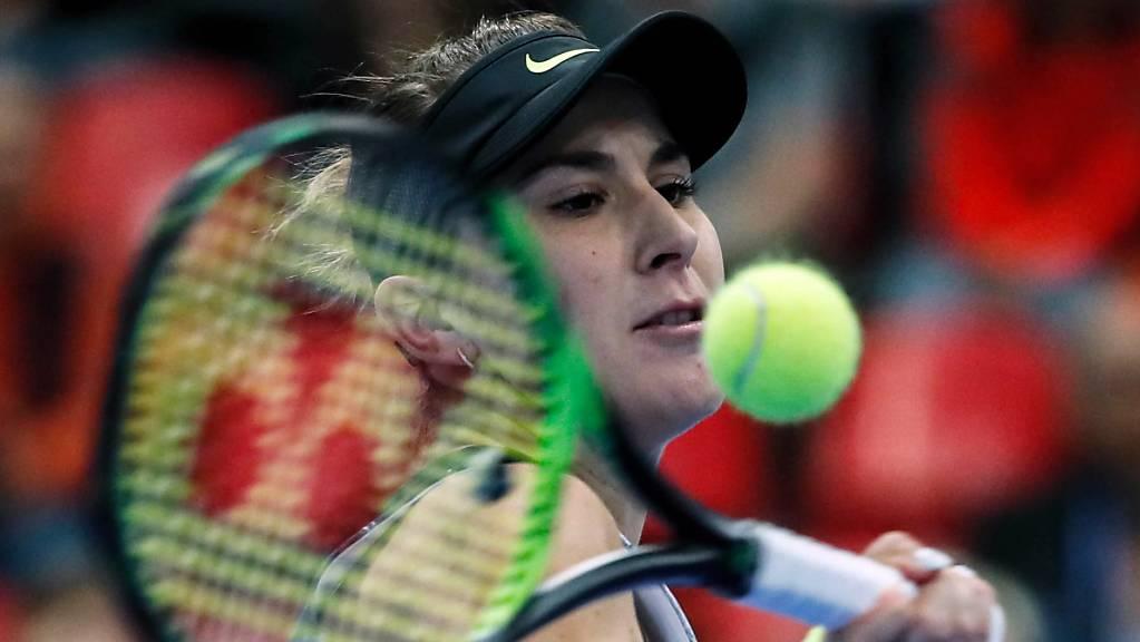 Belinda Bencic zeigte starke Nerven und zog in Südaustralien in die Viertelfinals ein