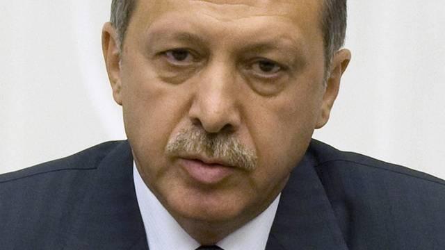 Not amused über Zyperns EU-Ratsvorsitz: der türkische Ministerpräsident Erdogan (Archiv)