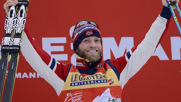 Nebst der Tour de Ski siegte Martin Johnsrud Sundby bisher neun Mal in diesem Winter.