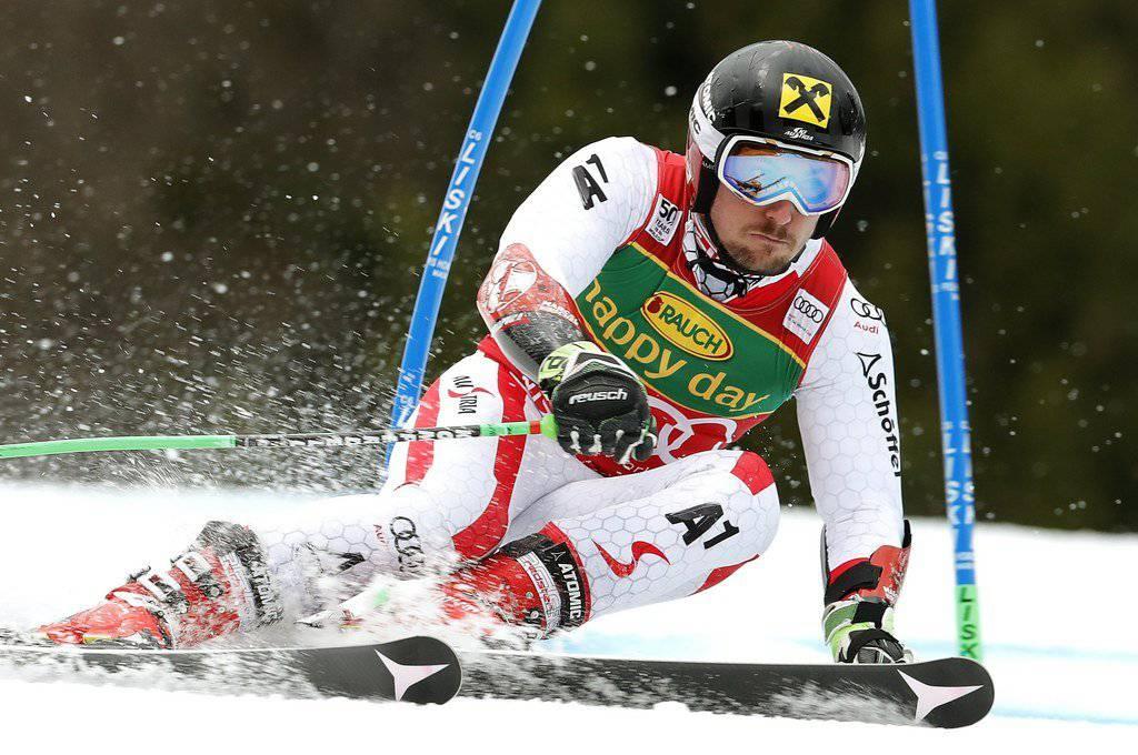 Marcel Hirscher will weitere Punkte in der Slalom-Wertung sammeln.