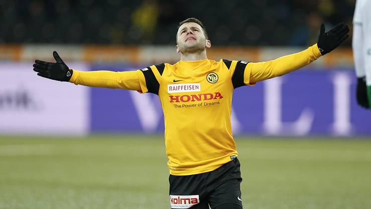 Dieser Transfer sorgte für Diskussionen: Steffen wechselte 2016 von Bern nach Basel.