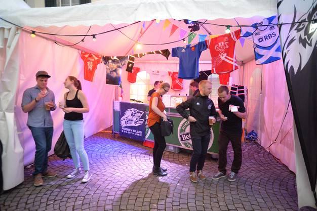 Verhaltene Partystimmung beim Rugby-Club Solothurn