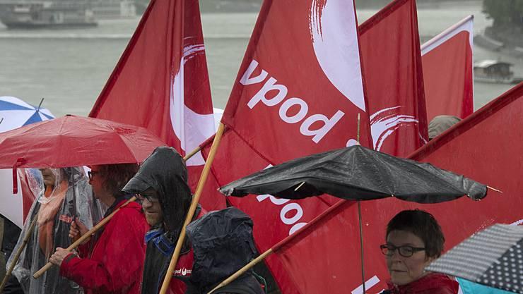 Der Verband des Personals öffentlicher Dienste (VPOD) kritisiert den Entscheid des Regierungsrats. (Themenbild)