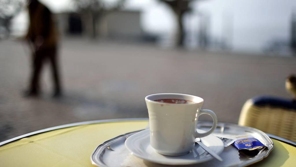 Ein Café crème könnte nächstes Jahr 10 Prozent teurer werden
