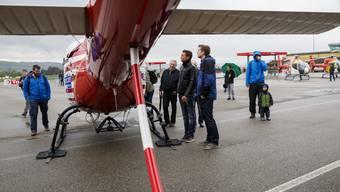 Wie im letzten Jahr gibt es «Helikopter zum Anfassen», nur dieses Mal bei (fast) garantiert schönem Wetter.