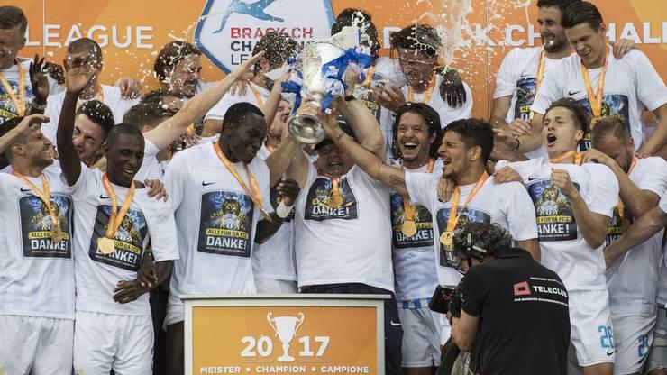 Der FCZ wurde Challenge-League-Meister.