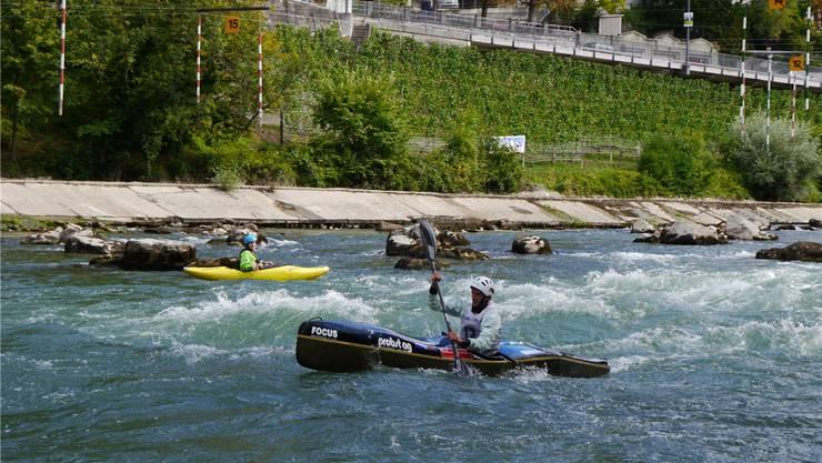 Die Meisterschaften in Baden bedeuten für Nicolas Violle und Gérôme Martin ein «Heimspiel». Calvin Stettler