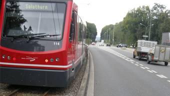 Die Bahn in Flumenthal (hier im Hinterriedholz) gibt zu reden.