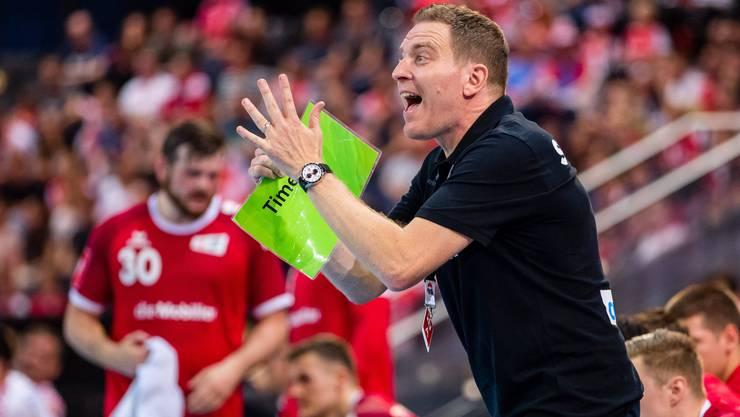 Handball-Nationaltrainer Michael Suter reist mit seinem Team am Donnerstag an die WM in Ägypten.