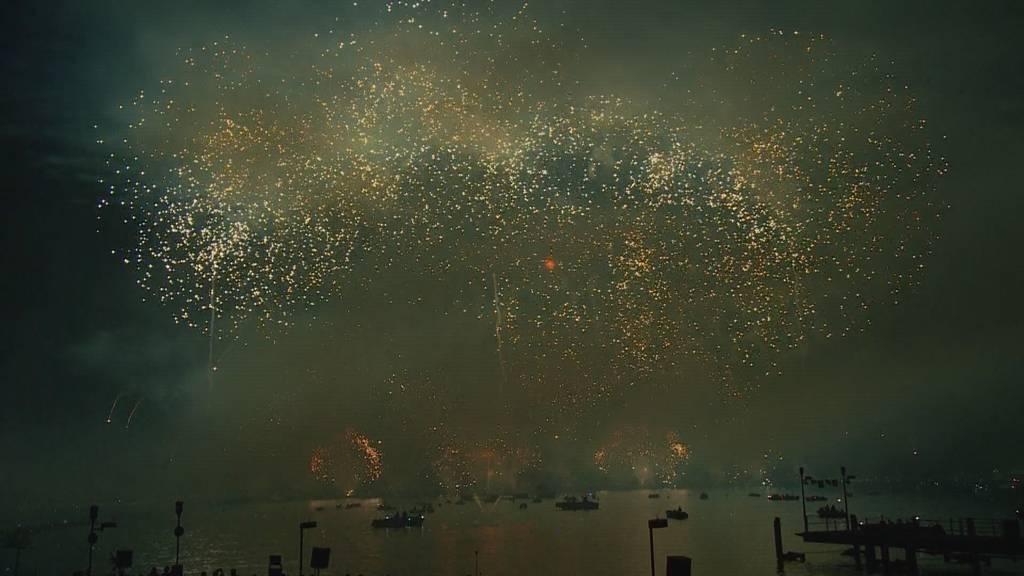 Feuerwerk: Impressionen von gestern Nacht
