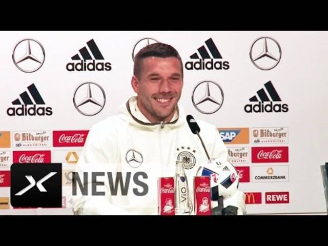 Lukas Podolski - Der Kontrollgriff