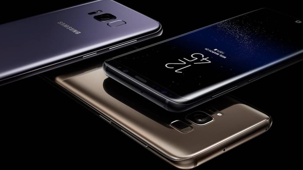 Vernetzt: Samsung Galaxy S8 mit grenzenlosem Display