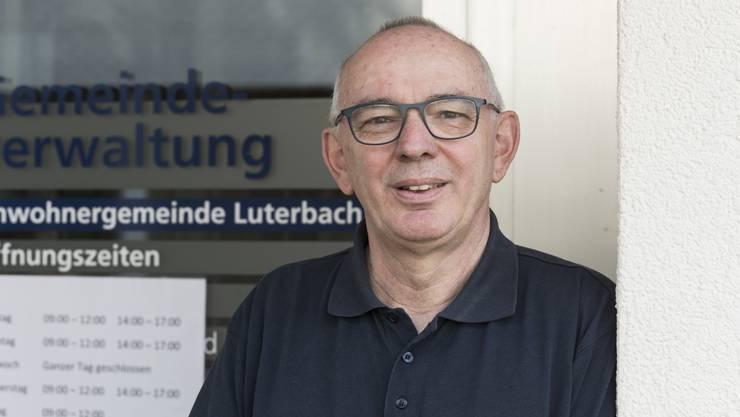 Ruedi Bianchi Gemeindeschreiber Luterbach geht in Pension