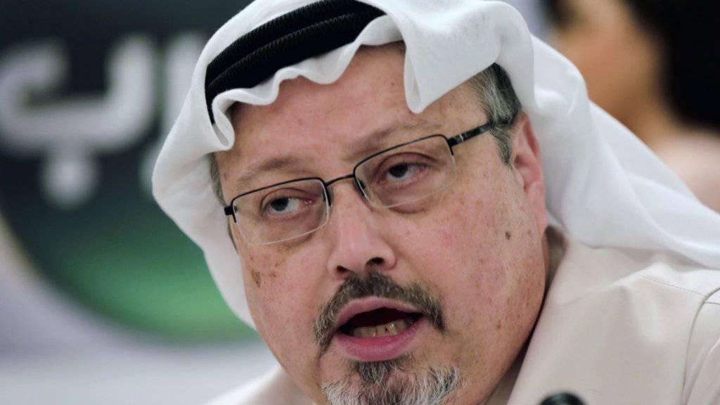 Wurde am 2. Oktober 2018 im saudischen Konsulat in Istanbul getötet: der regierungskritische Journalist Jamal Khashoggi. (Archivbild)