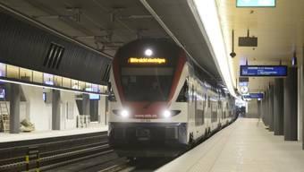 Der Betrieb im neuen Bahnhof Löwenstrasse geht reibungslos vonstatten.