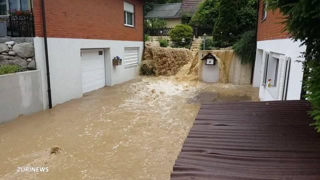 Massnahmen nach Hochwasser-Sommer