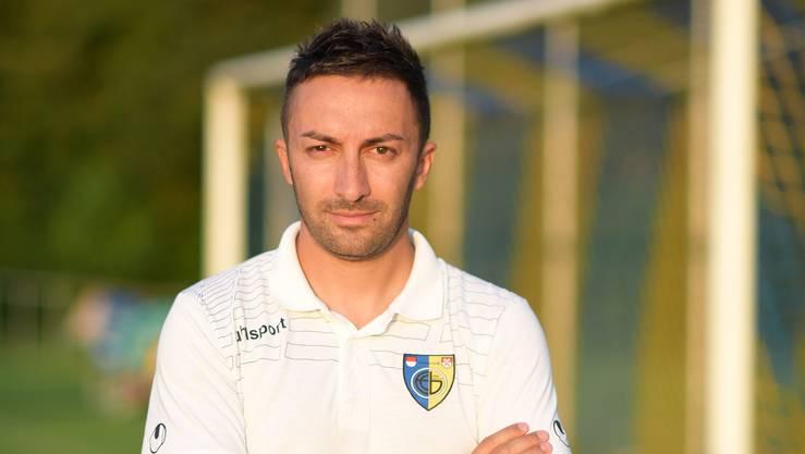 Vincenzo Salerno führte den FC Biberist 2017 zum Solothurner-Meister-Titel. ZVG