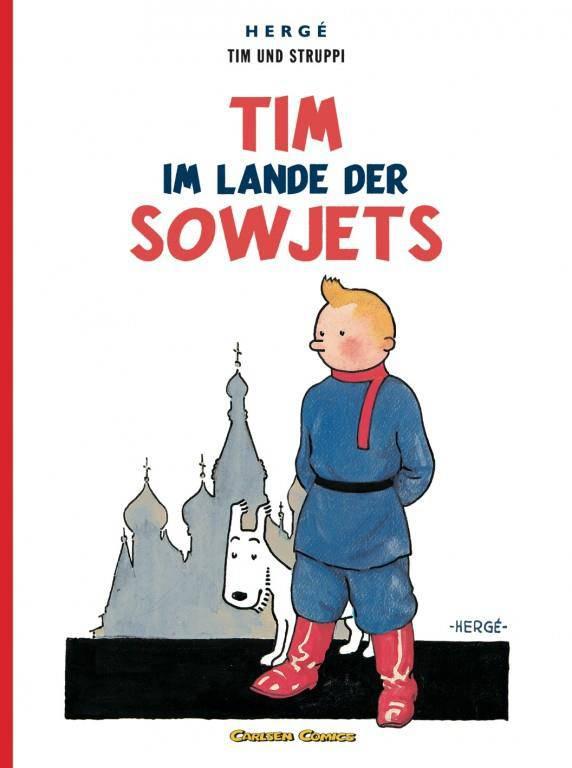 Tim und Struppi 0: Tim im Lande der Sowjets (© PD)