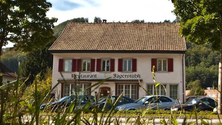 Das ehemalige Restaurant Jägerstübli an der Haptstrasse in Lauffohr wird zu einer Asylunterkunft.