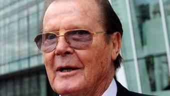 Roger Moore wäre gerne ein Bond-Bösewicht (Archiv)