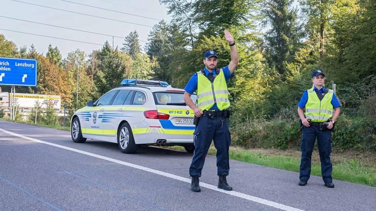 Die Aktion der Kantonspolizei dauerte vom 4. bis zum 8. März.