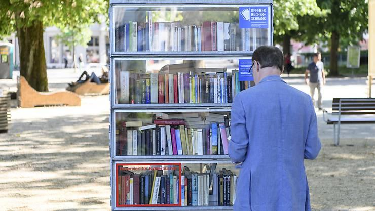 Offener Bücherschrank in Schnottwil. (Symbolbild)