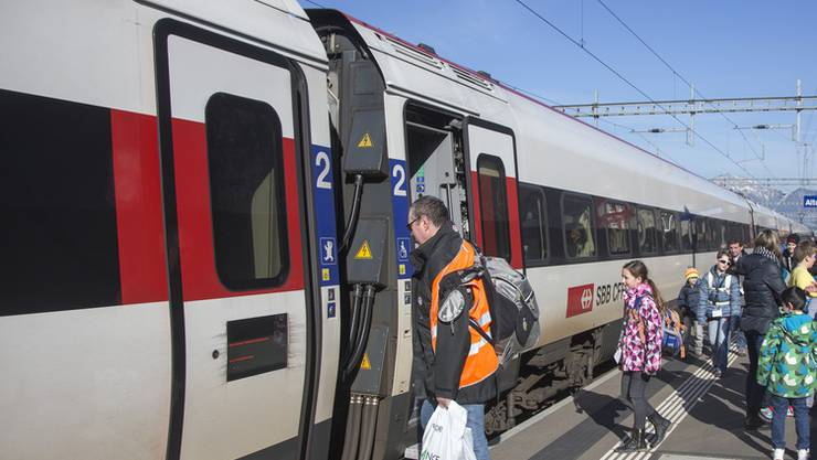 Personenunfall im Bahnhof Schönenwerd (SO). (Themenbild)