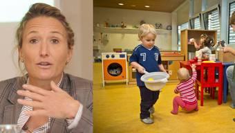 Die Kinderbetreuung als öffentliche Aufgabe zu regeln, ist kein Zuckerschlecken für Regierungsrätin Susanne Hochuli.