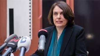Noch konnte sie für die Museen keine Lösungen präsentieren: Regierungspräsidentin Elisabeth Ackermann.