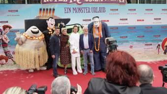 """""""Hotel Transsilvanien 3"""" hat am Wochenende vom 12. bis 15. Juli 2018 die Spitze der US-Kinocharts übernommen. (Archiv)"""