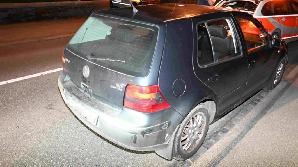 16-Jähriger in Flawil SG mit gestohlenem Kontrollschild unterwegs