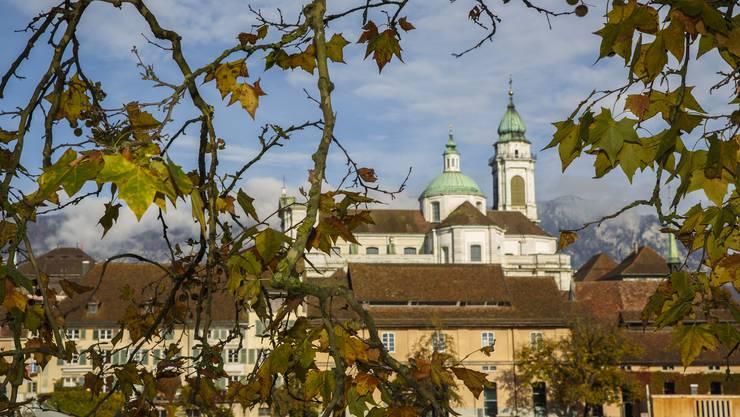 Es herrscht Herbststimmung in Solothurn. (Archivbild)