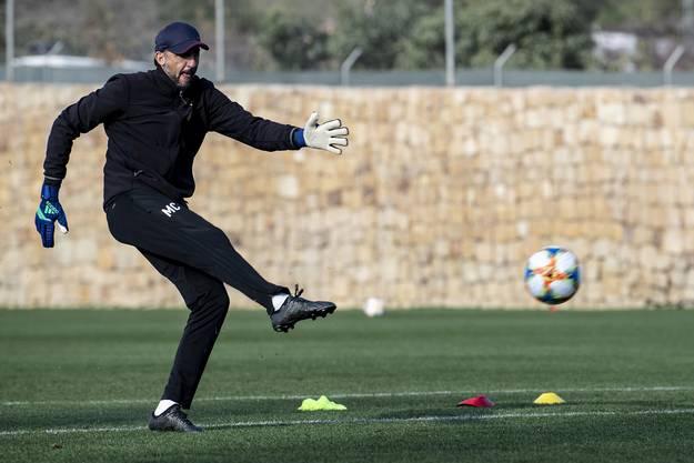 Er sorgt dafür, dass die Keeper ebenfalls bereit für den Rückrundenstart sind: Massimo Colomba.