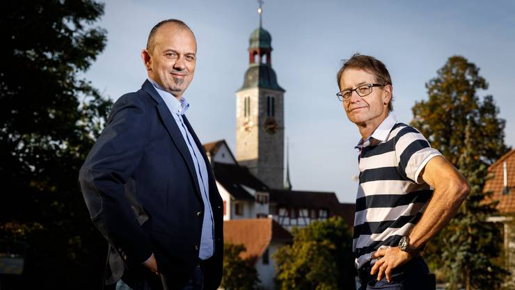 Marc Spirig oder Ueli Kölliker? Im 1.Wahlgang gab es kein Ergebnis. (Archiv)