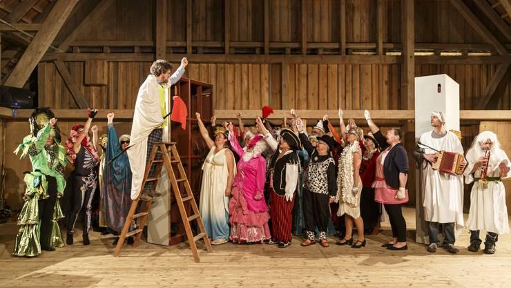 Im Bucheggberg wird die Bauernhofoperette «Keine Nacht in Venedig» aufgeführt