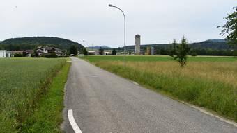 Das Gebiet an der Bahnhofstrasse in Sisseln bleibt Baugebiet – aber es wird (noch) nicht erschlossen.