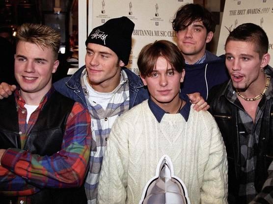 Die Popgruppe Take That im Jahr 1993