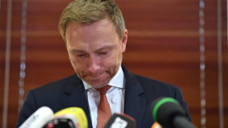 Kann aufatmen: FDP-Chef Lindner bleibt an der Parteispitze.