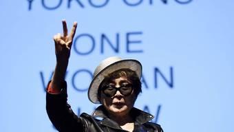 Hat die Grippe besiegt:  Yoko Ono nach Spitalaufenthalt wieder zu Hause. (Archiv)