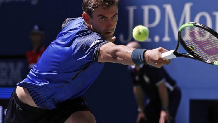 Henri Laaksonen bestritt in Flushing Meadows erst seine zweite Partie in einem Hauptfeld an einem Grand-Slam-Turnier