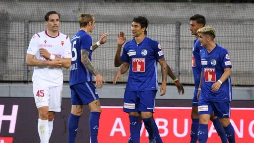Effizienter FC Luzern gewinnt gegen Sion mit 2:0