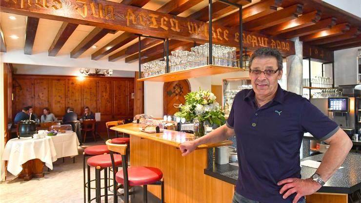 André Häfliger ist ab 1. Mai neuer Wirt im Restaurant «Alte Mühle» in Olten. Bruno Kissling