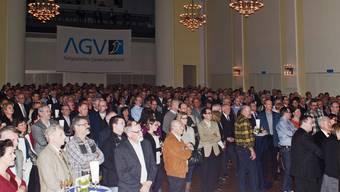 Neujahrsapéro des Aargauer Gewerbeverbandes