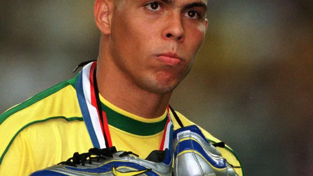 Ronaldo steuerte 2002 zum WM-Triumph der Brasilianer acht Tore bei