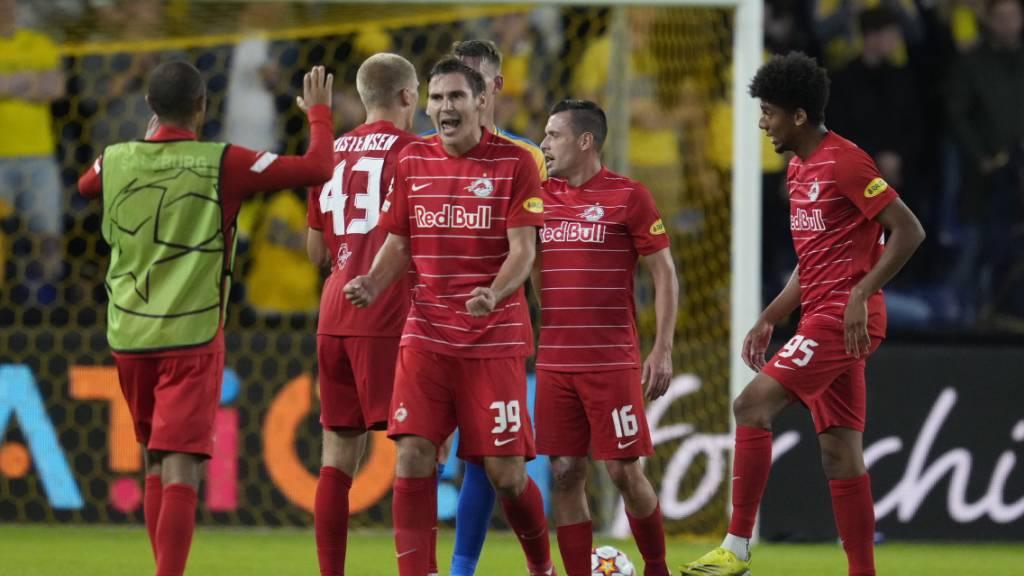 Salzburg jubelt über die Qualifikation für die Gruppenphase der Champions League