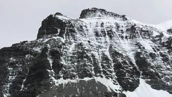 Hier, am Combin-de-Valsorey stürzte der Bergsteiger in den Tod.