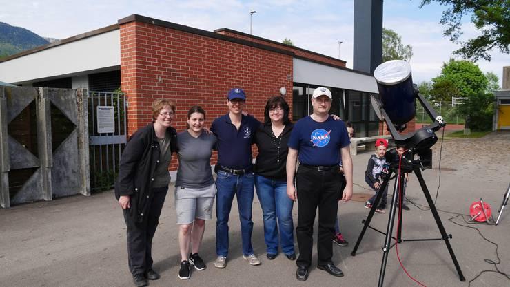 Das Team der Astrogruppe der Jurasternwarte