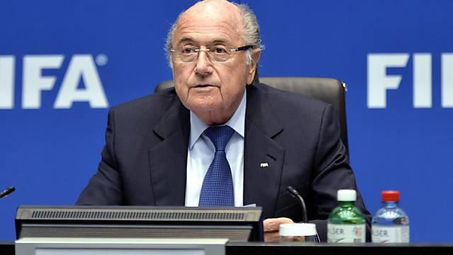 Will starker Mann der FIFA bleiben: Sepp Blatter