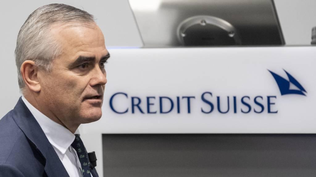 Credit-Suisse-Chef Thomas Gottstein hat nach den riesigen Abschreibungen wegen des Hedgefonds Archegos und den Greensill-Fonds alle Hände voll zu tun, dass die Kundschaft seiner Bank weiter vertraut und das Finanzinstitut wieder zum Erfolg findet. (Archivbild).